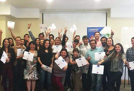 Se realizó ceremonia de certificación de Diplomado en Desarrollo Social para Funcionarios Municipales de regiones de Valparaíso y Atacama