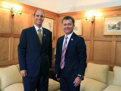 Subsecretario Salaberry se reúne con delegado presidencial de Ñuble