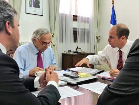 Ministro Chadwick compromete apoyo político del Gobierno al proceso de instalación de la Región de Ñuble (Canal 21 de Ñuble Región)