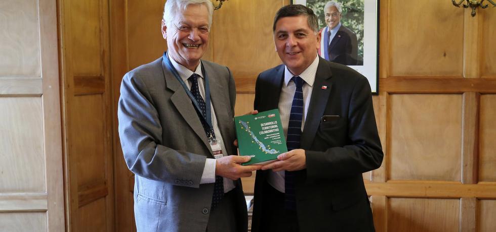 Subsecretario Alvarado se reúne con delegación brasileña y Fundación Chile Descentralizado