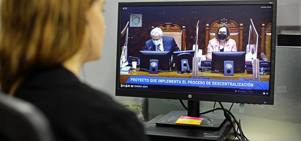 Se aprueba en general el proyecto de ley corta de descentralización en la Sala del Senado