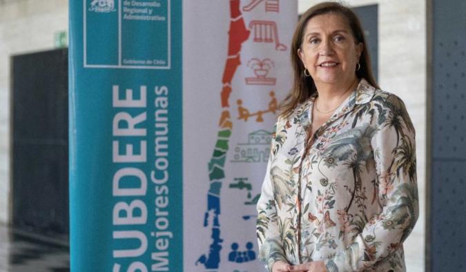 """María Bélgica Tripailaf: """"El Gobierno del Presidente Piñera está comprometido con la descentralización"""""""