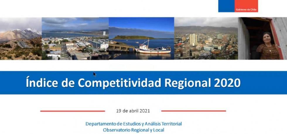 Subdere presenta el Índice de Competitividad Regional ante la OEA