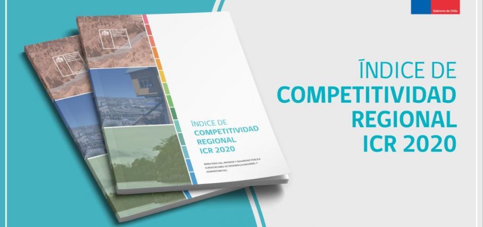 Subdere publica Índice de Competitividad Regional 2020